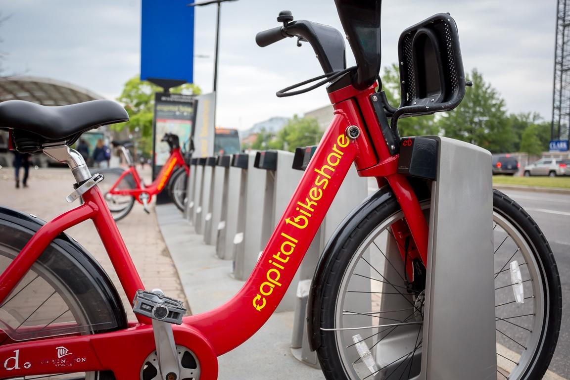 New Capital Bikeshare Docking Stations toMeet the Needsof Tourists