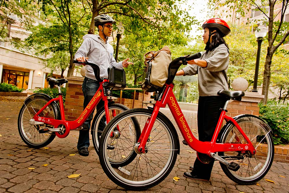 Discounted Capital Bikeshare for DC College Students
