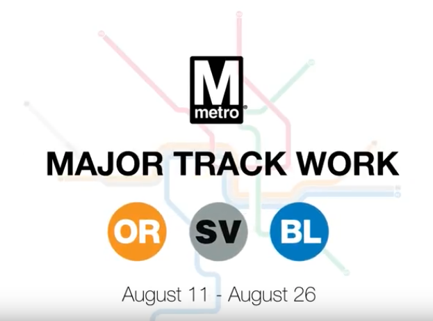 Orange, Blue & Silver Line Disruptions