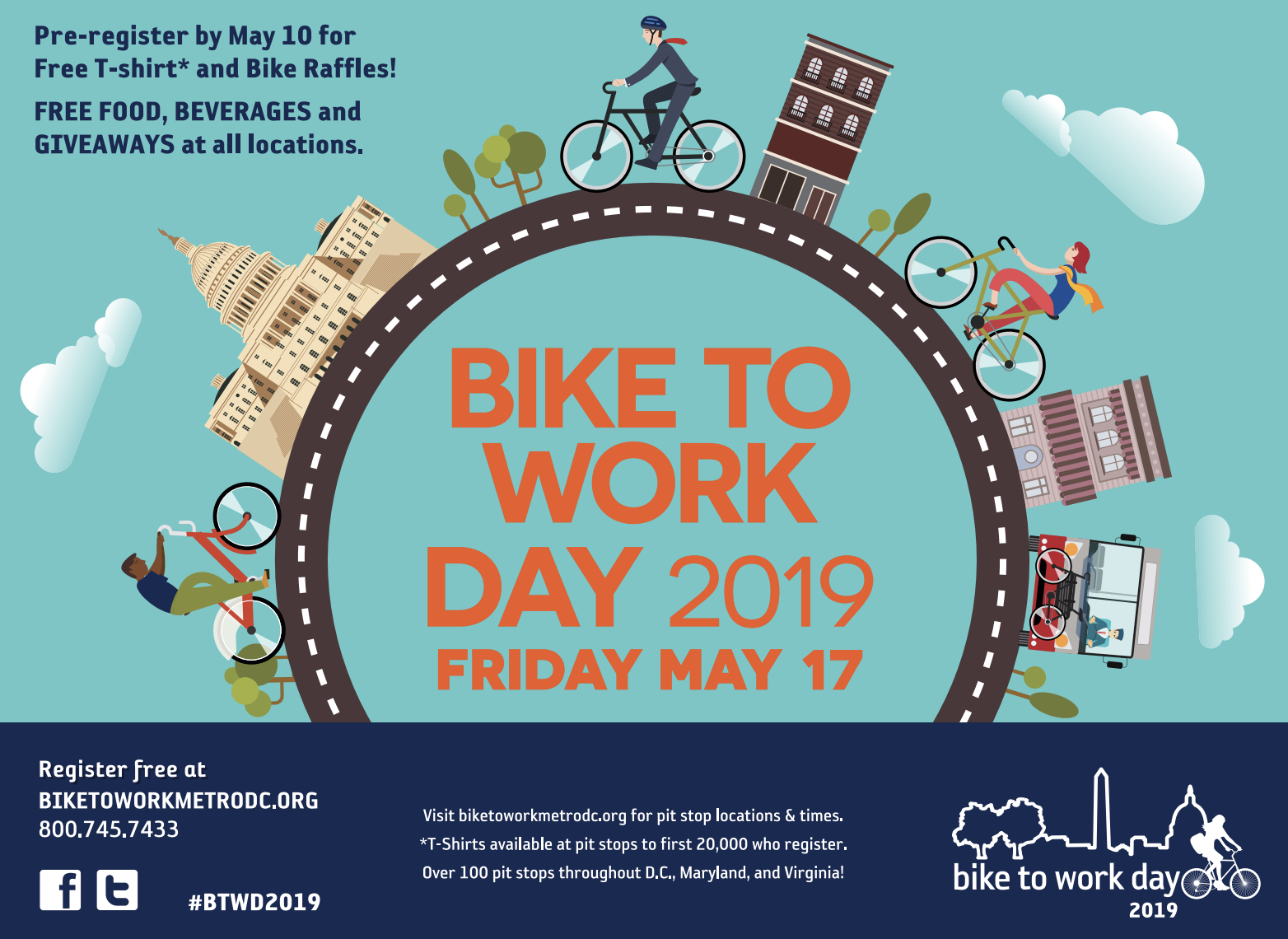 Bike to Work Day is Back to Business