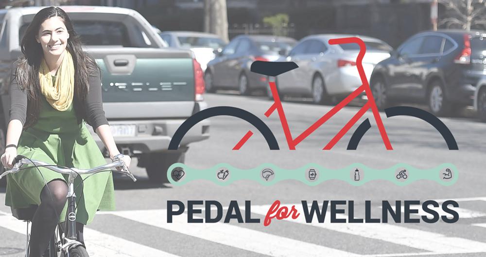 Pedal for wellness logo