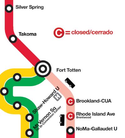 No Red Line Service? No problem! 3 Alternate Routes