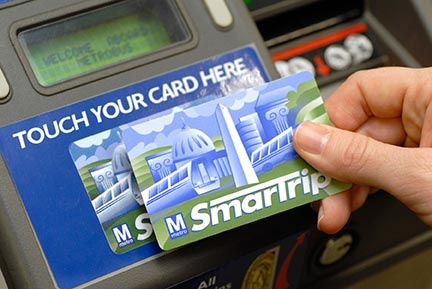 Is your SmarTrip Card prepared (to not havea negative balance)?